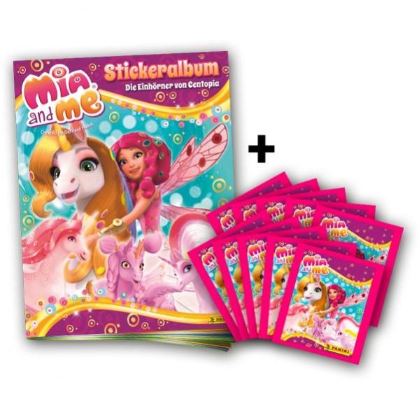 Mia and Me 5 Stickerkollektion - Schnupper-Bundle