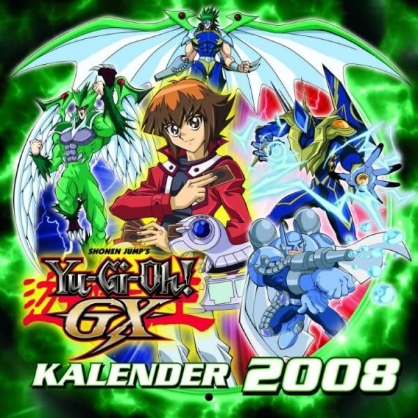 Yu-Gi-Oh! Gx - Wandkalender (2008)