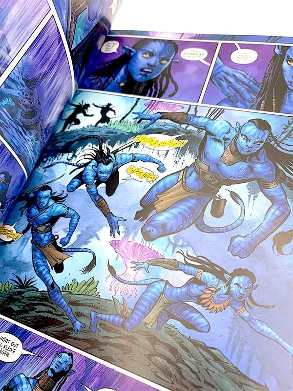 Avatar: Blick in den Comic