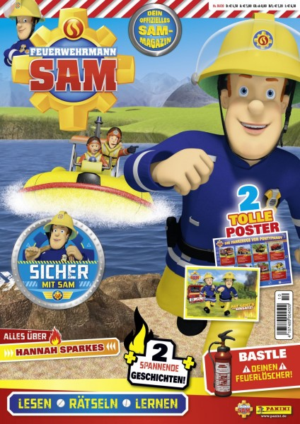 Feuerwehrmann Sam Magazin 10/20 Cover