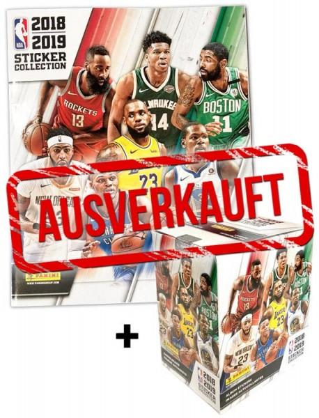 NBA 2018-2019 Stickerkollektion - Box + Album