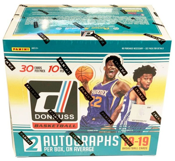 NBA 2018-2019 DONRUSS Trading Cards - Hobbybox