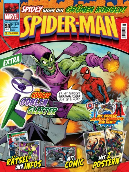 Spider-Man Magazin 58