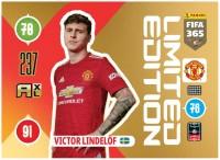 Panini FIFA 365 Adrenalyn XL 2021 Kollektion – LE-Card Victor Lindelöf Vorne