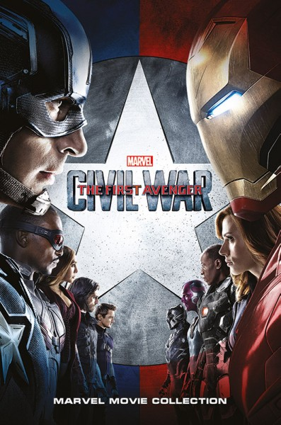 Marvel Movie Collection: Captain America - Civil War Cover