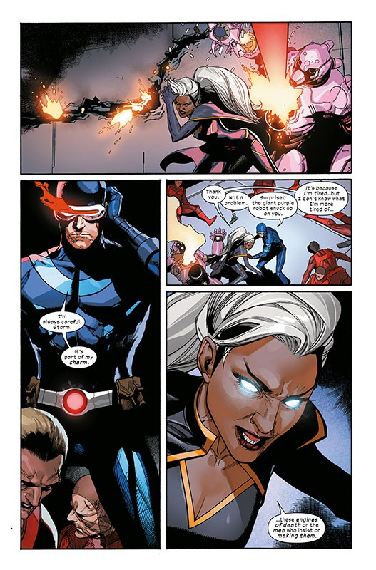 X-Men die neue Heftserie – Blick in den Comic
