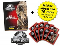 Jurassic World Anthology - Sticker und Cards - Schnupperbundle