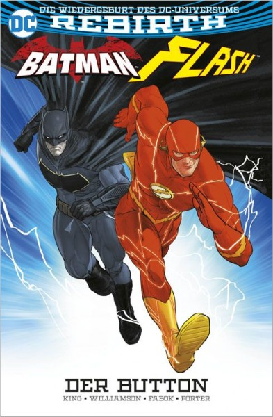DC Rebirth: Batman/Flash - Der Button Cover