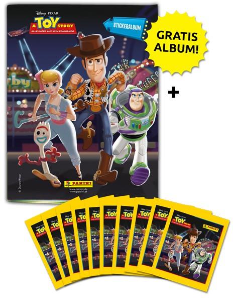 Disney Toy Story 4 – Sticker und Sammelkarten - Schnupperbundle