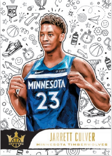 NBA Court Kings 2019/20 Trading Cards - Rookies III - Jarrett Culver