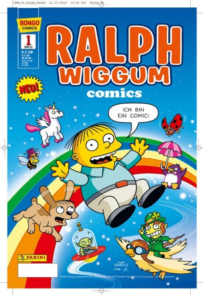 Simpsons Comics präsentiert: Ralph Wiggum 1