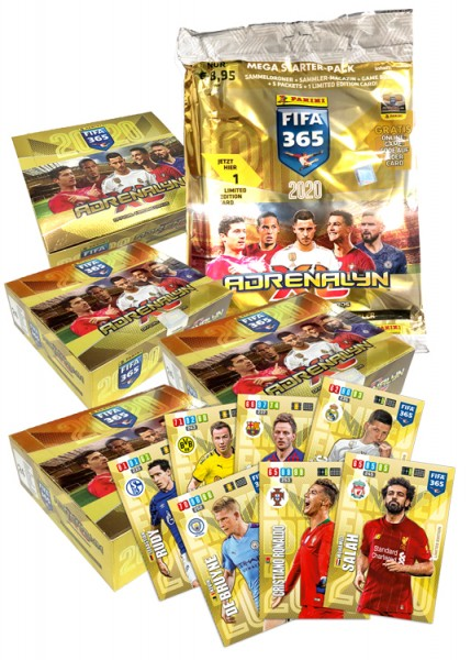 Panini FIFA 365 Adrenalyn XL 2020 Kollektion – Mega Bundle Spezial 2