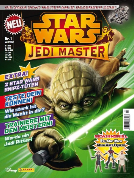 Star Wars: Jedi Master - Magazin 1