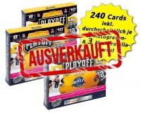NFL Playoff 2017 - Triple-Bundle - 3 Boxen mit 240 Cards - ausverkauft