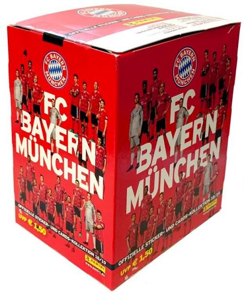 FC Bayern München: Offizielle Sticker- und Cards-Kollektion 2018/2019 - Box
