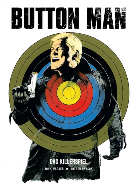 Button Man 1 - Band 1 Cover