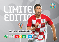 UEFA Euro 2020 Adrenalyn XL Limited Edition Card Andrej Kramaric