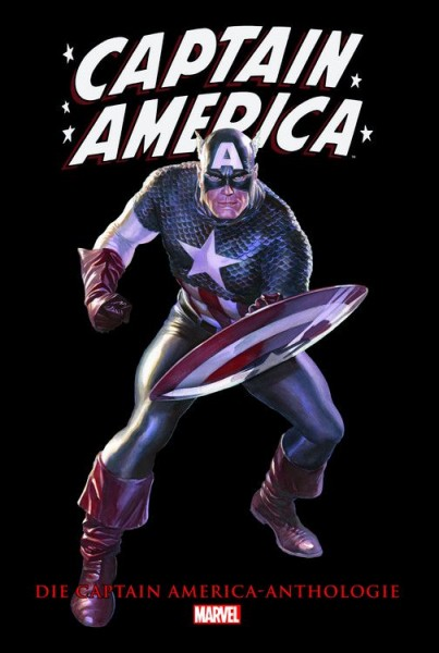 Die Captain America-Anthologie Cover