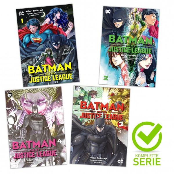Batman und die Justice League Komplett-Bundle