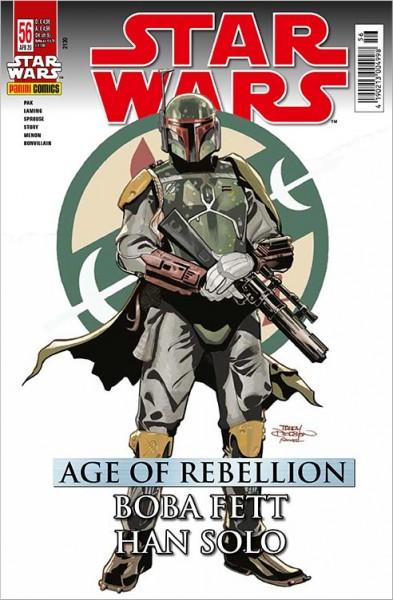 Star Wars 56: Age of Rebellion - Han Solo & Boba Fett - Kiosk-Ausgabe Cover