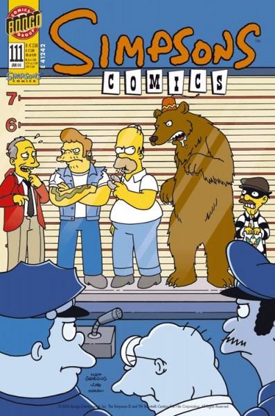Simpsons Comics 111