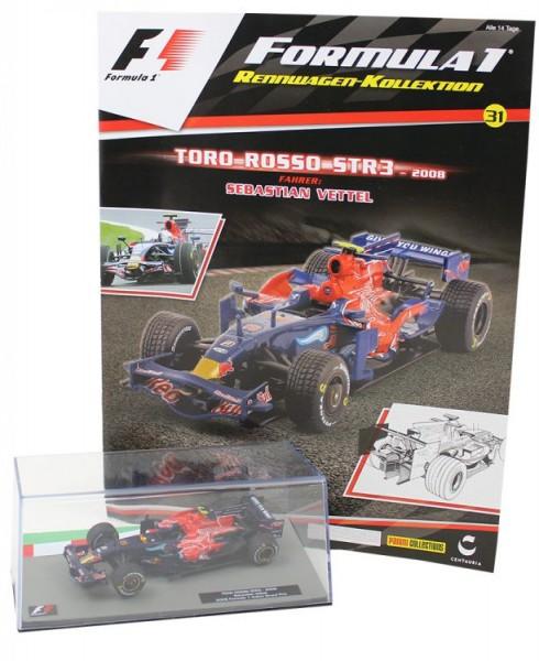 Formula 1 Rennwagen-Kollektion 31: Sebastian Vettel (Toro Rosso STR3)
