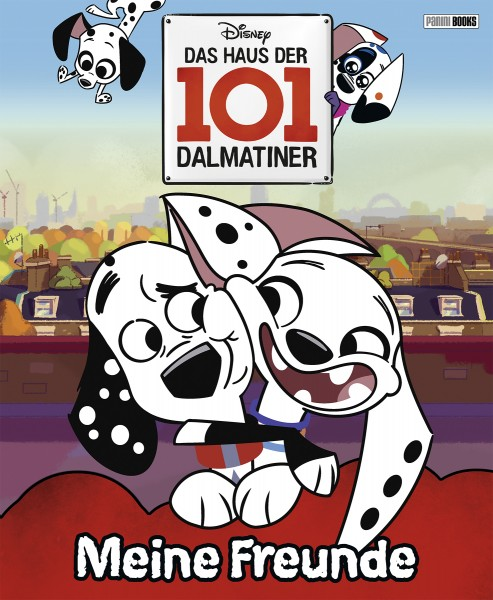 Disney Junior Das Haus der 101 Dalmatiner - Freundebuch Cover
