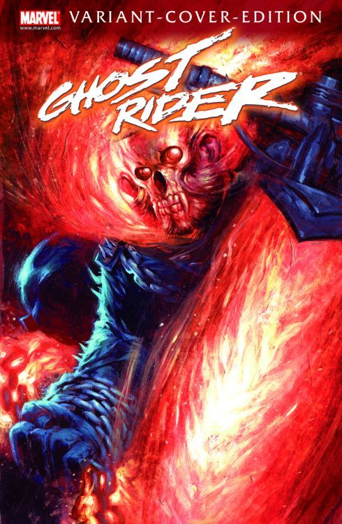 Ghost Rider 6 Variant - Comic Action...