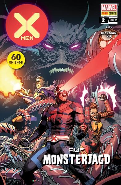 X-Men 2: Auf Monsterjagd Cover