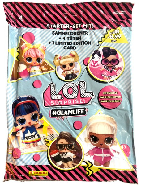 L.O.L. Surprise! #Glamlife Trading Cards Kollektion - Starterset