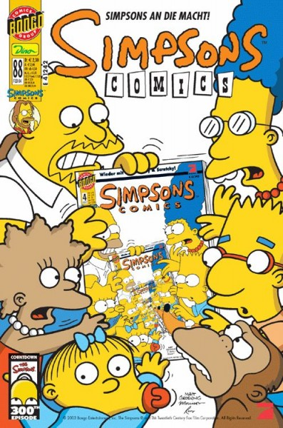 Simpsons Comics 88