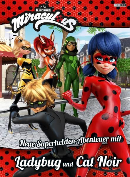 Miraculous Ladybug - Neue Superhelden Abenteuer mit Ladybug und Cat Noir Cover