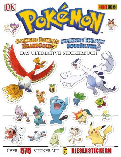 Pokémon Gold und Silber - Das ultimative Stickerbuch