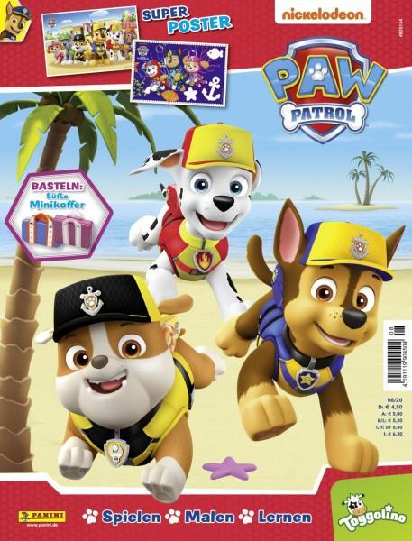 Paw Patrol Magazin 08/20 Cover