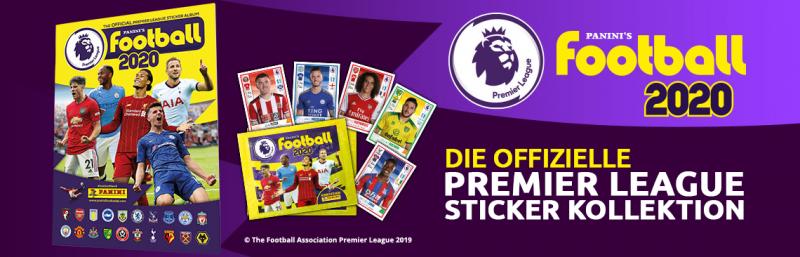 Die offizielle Premier League Sticker-Kollektion 2020