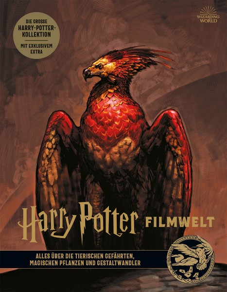 Harry Potter: Filmwelt 5 - Alles über tierische Gefährten, magische Pflanzen und Gestaltwandler Cover