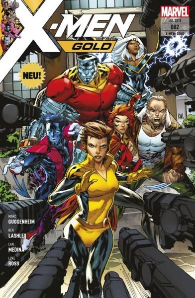 X-Men Gold 2: In der Falle