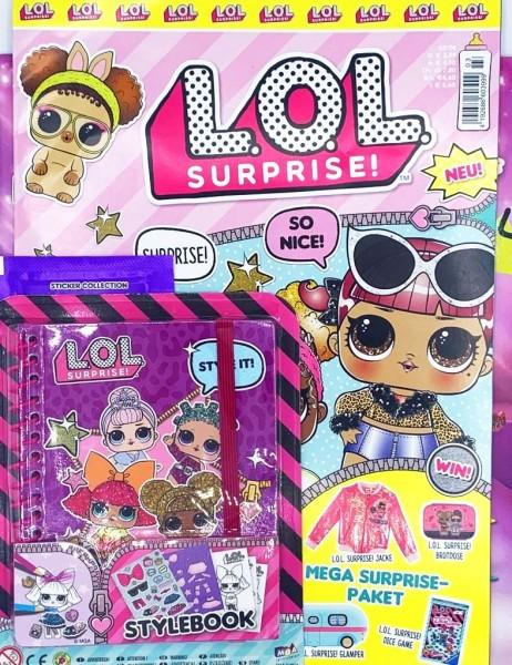 L.O.L. Surprise! Magazin 03/20 Cover mit Extra
