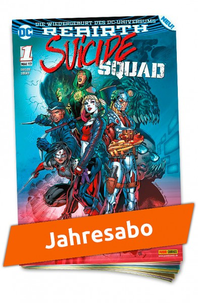 Jahresabo - Suicide Squad Heft