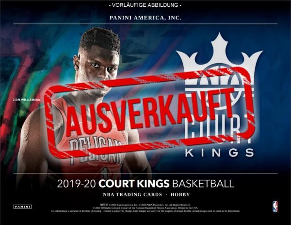 NBA Court Kings 2019-20 Trading Cards - Hobbybox - ausverkauft