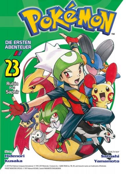 Pokémon - Die ersten Abenteuer 23: Rubin und Saphir