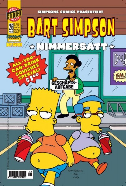 Bart Simpson Comics 26