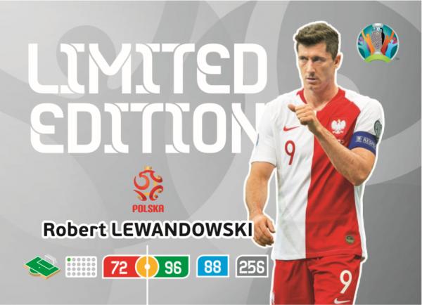 Euro 2020™ LE-Card: Robert Lewandowski (Polen)