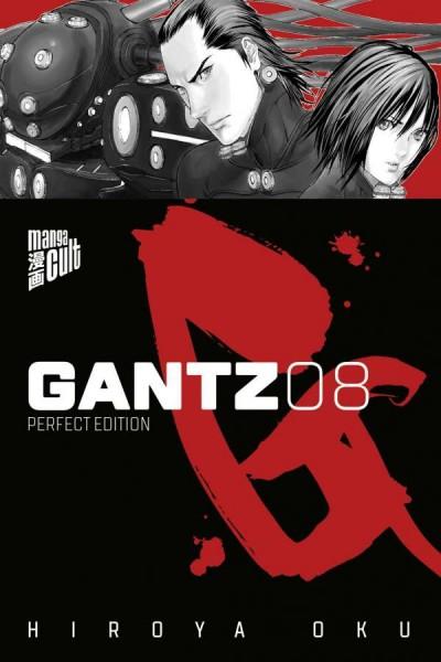 Gantz 8 Cover