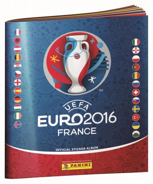 UEFA Euro 2016 Sticker Kollektion - Album