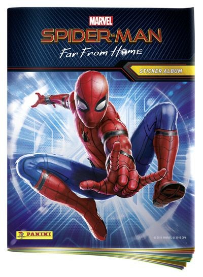 Spider-Man: Far From Home - Sticker und Cards - Album
