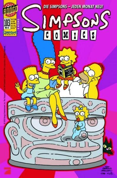 Simpsons Comics 103