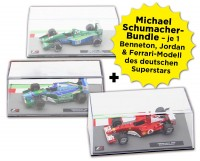 Formula 1 Rennwagen-Kollektion: Michael Schumacher Bundle