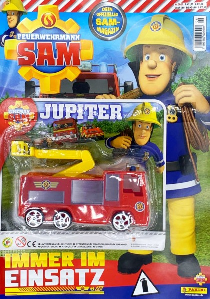 Feuerwehrmann Sam 06/20 Magazin Cover