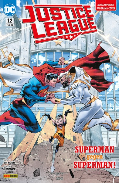 Justice League 12: Superman gegen Superman!